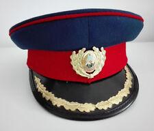 vintage Romanian police man Communism era duty officer cap hat police 1979