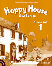Oxford HAPPY HOUSE New Edition Level 1 Activity Book with MultiROM @NEW@