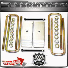 """R 3.5/"""" FRONT level LIFT  semi-round ubolt fits94-04 FORD F250 Excursion 4x4"""