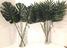 MIX LOT LARGE   Artificial Faux Foliage  Leaves Home Decor/Flower Arrangements.