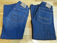 Lot of 2 AMERICAN EAGLE AE Jeans Relaxed & Slim Straight Men's 28 Inseam 28