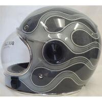 Bell Bullitt SE Street Cruiser Motorcycle Helmet Chemical Candy Grey Medium
