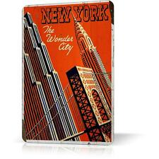 METAL TIN SIGN NEW YORK MANHATTAN SOUVENIR #7 Vintage Decor Home Bar Pub Garage