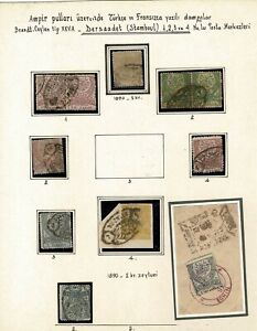 Turkey OTTOMAN AMPIR STAMPS EGIN dersaadet ıstanbul  EAST ANATOLIA collection