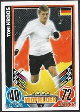 #75 TOPPS - MATCH ATTAX CARD GAME  - ENGLAND 2012 - TONI KROOS - GERMANY