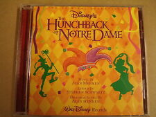 CD / THE HUNCHBACK OF NOTRE DAME - WALT DISNEY