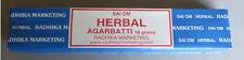 SAI OM HERBAL Agarbatti 12 Incense Sticks original FROM INDIA