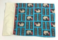 Batman Pillowcase Homemade Travel Toddler 16-1/2 by 11-1/4 Vintage Batman