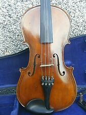 ANTIQUE VIOLIN AND VULILLAUME SIGNED VIOLIN BOW