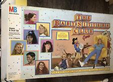 The Baby-Sitters Club Board Game Vintage 1989 COMPLETE Milton Bradley 80's Teen