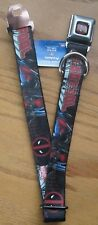Deadpool Wade Wilson Seat Belt Buckle Down Dog Collar Marvel LETTERS NEW 0142
