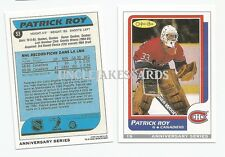 92-93 OPC 19/26 PATRICK ROY ROOKIE REPRINT MONTREAL CANADIENS O-PEE-CHEE