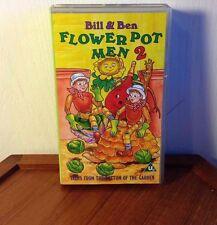 Bill & Ben Flower Pot Men 2 Tales From The Bottom Of The Garden VHS BBC PAL RARE