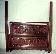 Oak Louis XV/Neoclassical 20th Century Antique Beds