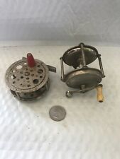 Vintage Fishing Reels. Set Of 2 Made In Usa