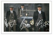 PAUL ANDERSON CILLIAN MURPHY & JOE COLE PEAKY BLINDERS SIGNED PHOTO PRINT