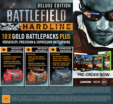 Battlefield Hardline Deluxe Edition Xbox 360 AUS PAL *NEW* + Warranty!!