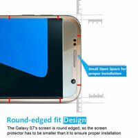 100% genuine Tempered Glass Temper glass Screen Protector For Samsung Galaxy S7