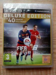 Genuine FIFA 16 Deluxe Edition (PS3) Brand New Sealed