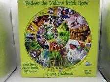 Follow The Yellow Brick Road Jigsaw Puzzle  Sealed Greg Tim Hildebrandt 1000 Pcs