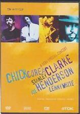 A Very Special Concert Chick Corea Stanley Clarke J.Henderson L.White DVD Nuovo