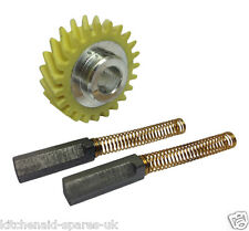 Kitchenaid Stand Mixer Worm Gear & A Pair of Carbon Motor Brushes. Genuine Parts