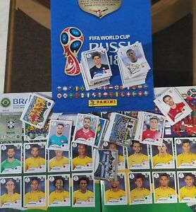 Panini FIFA World Cup Russia 2018 - 80 Stickers (random)