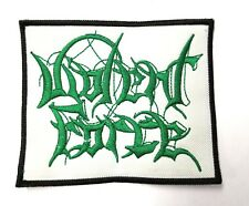 VIOLENT FORCE GREEN  LOGO EMBROIDERED  PATCH