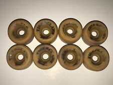 Rare! Vintage Lot of 8 Vanguard Roller Skate Wheels Tiger Claws