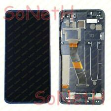 TOUCH SCREEN LCD DISPLAY CON FRAME ALCATEL ONE TOUCH IDOL 4S OT 6070 K Y NERO