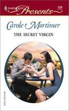 The Secret Virgin, Mortimer, Carole, 0373122268, Book, Acceptable