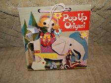 Vintage 1962 Pop Up Origami Book by Tatsuo Miyawaki Japan