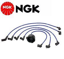 NGK Spark Plug Ignition Wire Set For Honda Civic 1980-1987