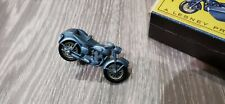 Matchbox series 4 Triumph motorcycle and side car with box