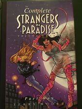 The Complete Strangers In Paradise Vol. 3 Part One. HC Terry Moore Free Shipping