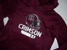 NWT Harvard Crimson Under Armour Coldgear logo Hoodie sweatshirt Youth M 10/12