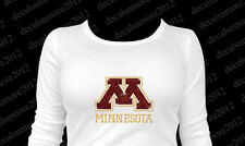 MN Minnesota Golden Gophers - Bling - Iron-on Rhinestone Transfer