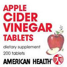Apple Cider Vinegar 200 Tabs 300 MG by American Health