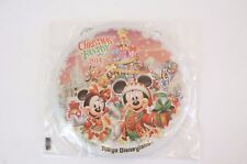 Tokyo Disney Resort Button TDL Christmas Fantasy 2014 Mickey Minnie