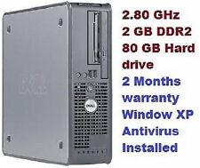 Computer desktop Velocità processore 2.80GHz Memoria ( RAM ) 2GB