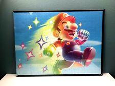 Framed  Super Mario Bros  Large Puzzle 24'x18'
