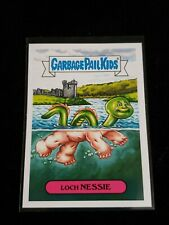 2018 Garbage Pail Kids Oh the Horror-ible 5a Loch Nessie Folklore Gpk
