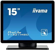 "Iiyama ProLite T1521MSC-B1 (15"" Pouce Multi-touch) écran LCD LED-Backlit 800:1"