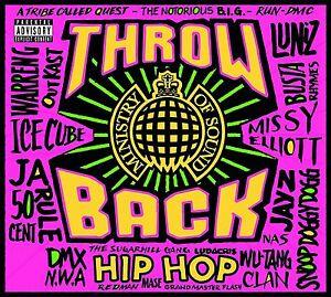 THROWBACK HIP HOP - MINISTRY OF SOUND 3 CD ALBUM SET (June 2nd 2017)