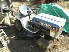 FORD YT-12.5 LAWN TRACTOR--Twin Engine Briggs--Ideal For Parts Or Restoration
