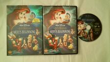 DISNEY'S THE LITTLE MERMAID ARIEL'S BEGINNING DVD WIDE NEAR MINT ANIMATED