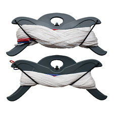 Flexifoil 25m Kite Flying String Set 2 x 440lb / 2 x 220lb Power Kiting Dyneema