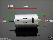 DC 6V 12V 24V 26000RPM High Speed Large Torque 390 Motor For Electric tool DIY
