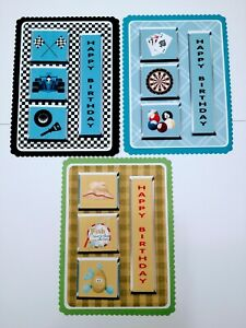 NEW: 3 x A5 Card Sporting Toppers.