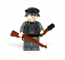 custom German WW2 wehrmacht Soldier made with real LEGO(R) Kar98